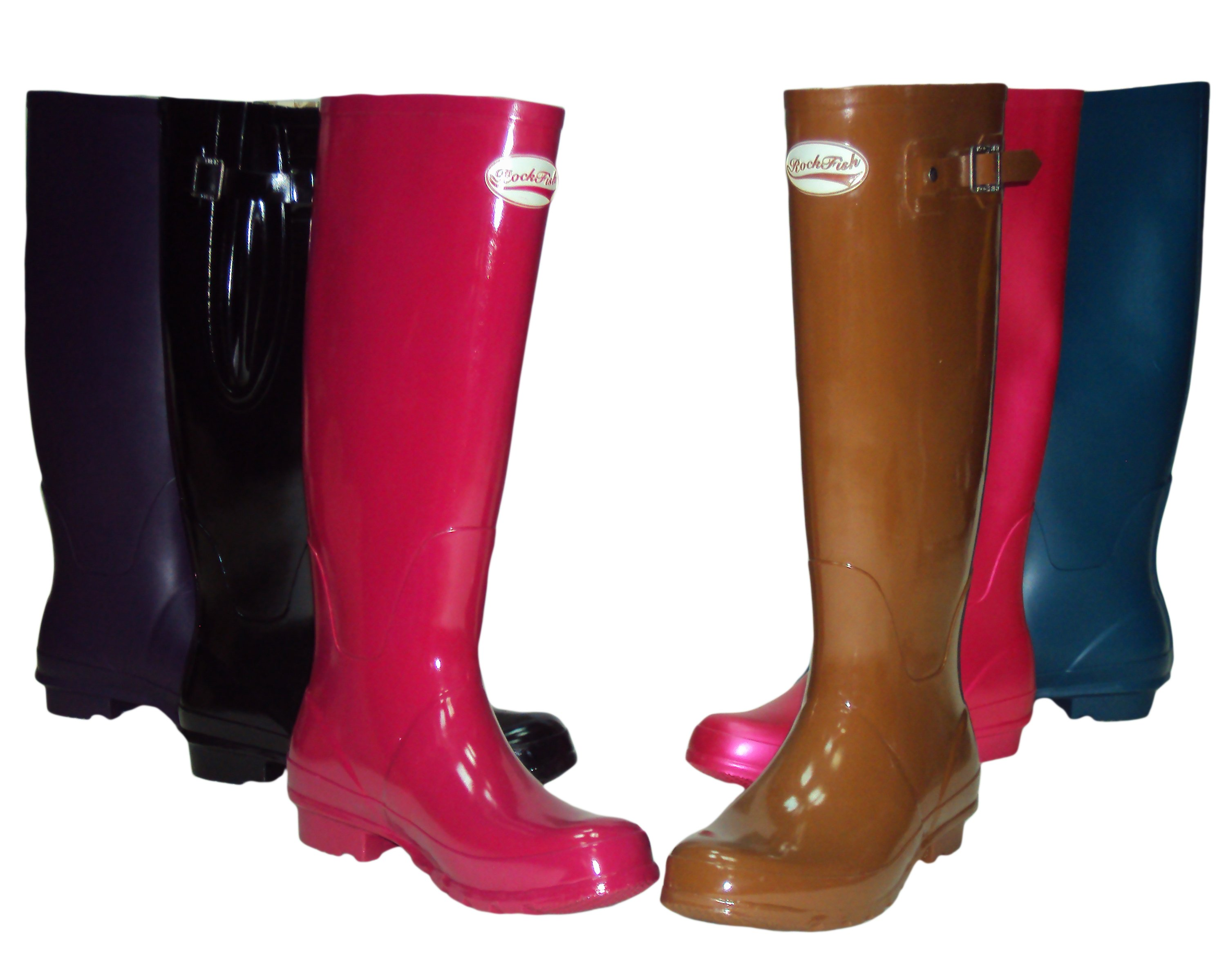ROCK FISH RUBBER LONG BOOTS